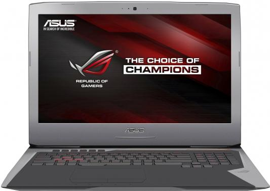 "Ноутбук ASUS ROG G752VT-GC125T 17.3"" 1920x1080 Intel Core i7-6700HQ 90NB09X1-M01680"