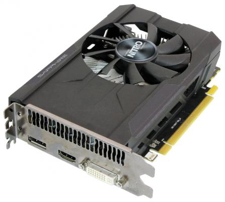Видеокарта 2048Mb Sapphire R7 360 OC NITRO PCI-E DVI HDMI DP 11243-05-10G OEM