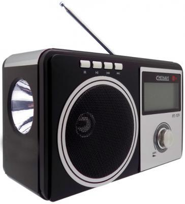 Радиоприемник Сигнал РП-109 черный