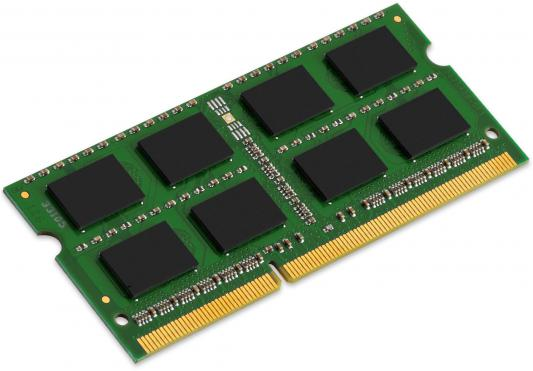 Оперативная память для ноутбука 8Gb (1x8Gb) PC3-10600 1333MHz DDR3 SO-DIMM CL9 Kingston KCP313SD8/8 оперативная память для ноутбуков so ddr3 2gb pc10600 1333mhz kingston kvr13s9s6 2 cl9