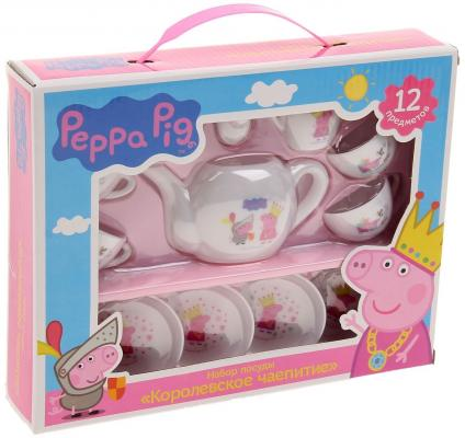 Набор посуды Peppa Pig Королевское чаепитие 12 предметов 29699 1pcs u s imports bi 7276 winding multi turn potentiometer switch r1k 2k 5k 10k 20k 50k 100k