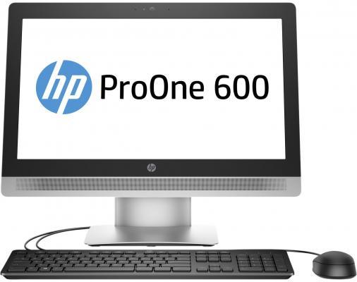 "Моноблок 21"" HP ProOne 600 G2 1920 x 1080 Intel Pentium-G4400 4Gb SSD 128 Intel HD Graphics 510 Windows 7 Professional черный серебристый V1F31ES"