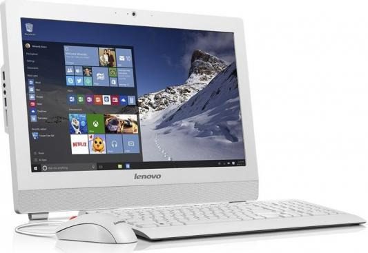 "Моноблок 19"" Lenovo S200z 1600 x 900 Intel Pentium-N3700 4Gb 500Gb Intel HD Graphics DOS белый 10K5000DRU"