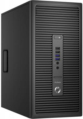 Системный блок HP ProDesk 600 G2 G4400 3.3GHz 4Gb 1Tb HD510 DVD-RW Win7Pro Win10Pro клавиатура мышь черный T4J73EA