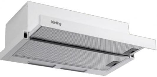 Вытяжка подвесная Korting KHP 5610 W белый