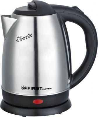 Чайник First FA-5411 2200 Вт стальной 1.7 л металл