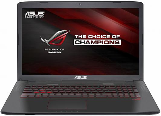 "Ноутбук ASUS GL752Vw 17.3"" 1920x1080 Intel Core i5-6300HQ 90NB0A42-M03150"