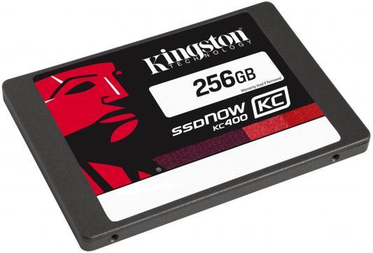 "SSD Твердотельный накопитель 2.5"" 256 Gb Kingston SSDNow KC400 Read 550Mb/s Write 540Mb/s SATAIII SKC400S3B7A/256G"