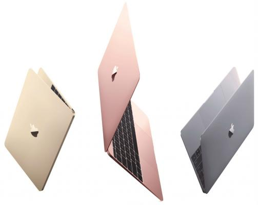 "Ноутбук Apple MacBook 12"" MLHA2RU/A 2304x1440 1.1GHz Intel Dual-Core Core M3 (TB 2.2GHz) 8GB (1866MHz) 256GB Flash Storage Intel HD Graphics 515"