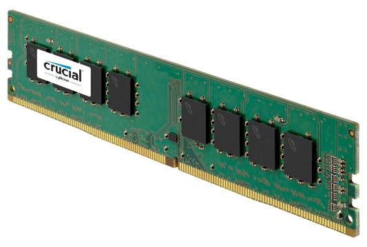 Оперативная память 16Gb (1x16Gb) PC4-19200 2400MHz DDR4 DIMM CL17 Crucial CT16G4DFD824A