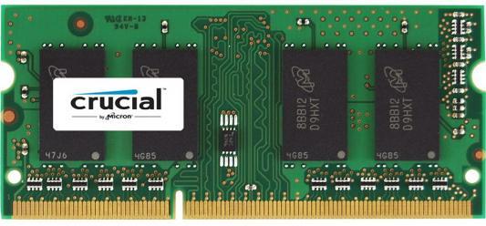 Оперативная память для ноутбуков SO-DDR3 16Gb PC3-12800 1600MHz Crucial CT204864BF160B