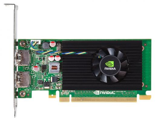 Видеокарта PNY Quadro NVS 310 VCNVS310DVI-1GBBLK-1 PCI-E 1024Mb 64 Bit OEM видеокарта pny quadro p400 vcqp400blk 1 pci e 2048mb gddr5 64 bit oem