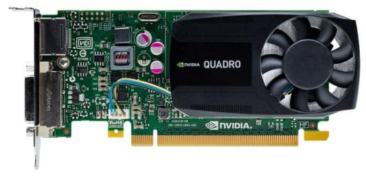 Видеокарта PNY Quadro K620 VCQK620BLK-1 PCI-E 2048Mb 128 Bit OEM видеокарта pny quadro p400 vcqp400blk 1 pci e 2048mb gddr5 64 bit oem