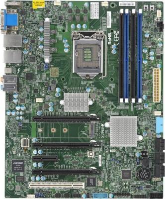 Мат. плата для ПК Supermicro mbd-X11SAT-F-O Socket 1151 C236 4xDDR4 2xPCI-E 16x 2xPCI 2xPCI-E 1x 8xSATAIII ATX Retail мат плата для пк asus e3 pro gaming v5 socket 1151 c232 4xddr4 2xpci e 16x 2xpci 2xpci e 1x 6xsataiii atx retail