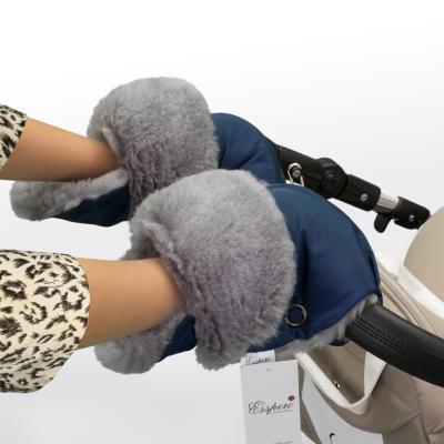 Муфта-рукавички для коляски Esspero Christoffer (navy)