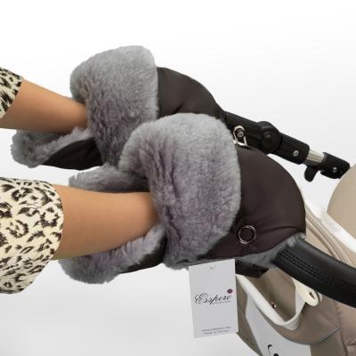 Муфта-рукавички для коляски Esspero Christoffer (chocolat)