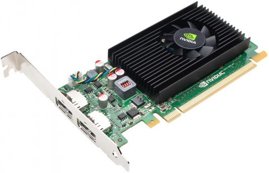 Видеокарта 1024Mb PNY Quadro NVS 310 PCI-E DP DVI VCNVS310DVI-1GB-PB Retail видеокарта 6144mb msi geforce gtx 1060 gaming x 6g pci e 192bit gddr5 dvi hdmi dp hdcp retail