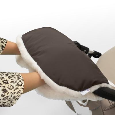 Муфта для рук на коляску Esspero Soft Fur (chocolat)