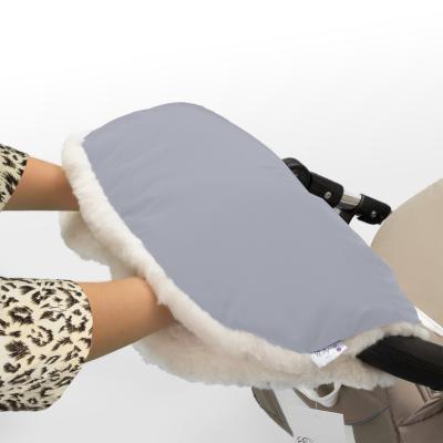 Муфта для рук на коляску Esspero Soft Fur (blue mountain)