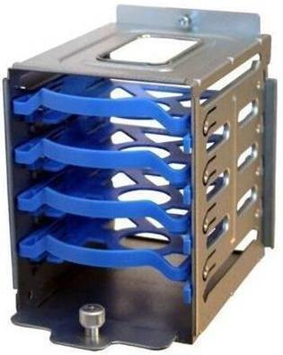 Корзина для дисков SuperMicro 4x2.5 MCP-220-73201-0N аксессуар supermicro mcp 220 84607 0n mcp 220 84607 0n