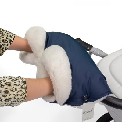 Муфта для рук на коляску Esspero Soft Fur Lux (navy)