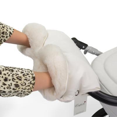 Муфта для рук на коляску Esspero Soft Fur Lux (beige)