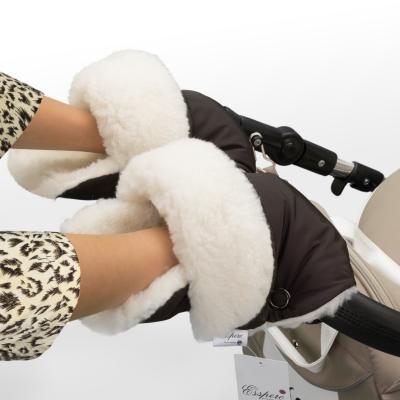 Муфта-рукавички для коляски Esspero Christer (chocolat)