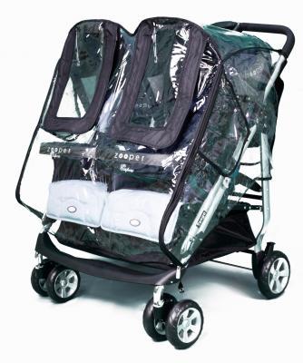 Дождевик для коляски для двойни Esspero Cabinet Duette