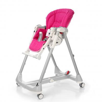 Сменный чехол Esspero lucid для стульчика Peg-Perego Prima Pappa Best (pink)