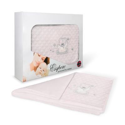 Комплект постельного белья в коляску 5 предметов Esspero Conny (elona pink)
