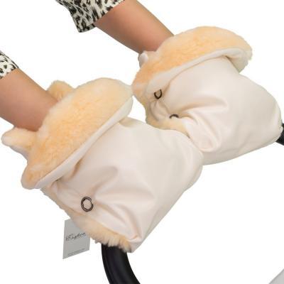 Муфта-рукавички для коляски Esspero Olsson (white)