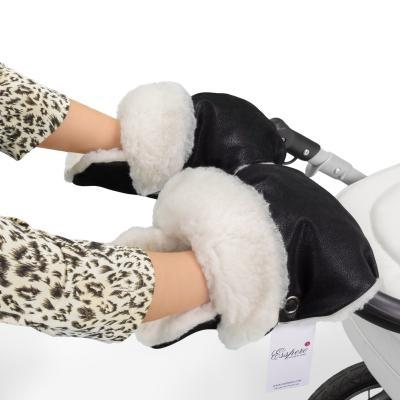 Муфта-рукавички для коляски Esspero Gretta (black)
