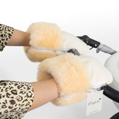 Муфта-рукавички для коляски Esspero Double Leatherette (cream)