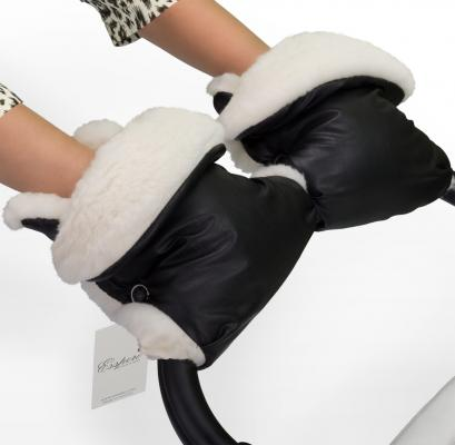 Муфта-рукавички для коляски Esspero Margareta (black)