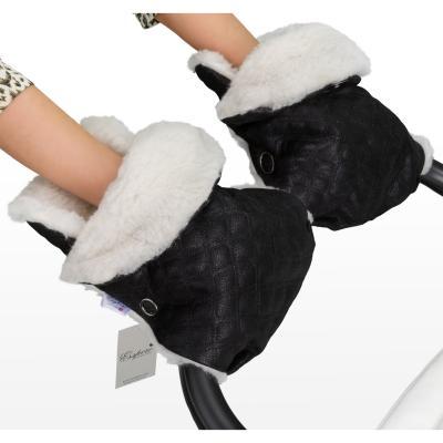 Муфта-рукавички для коляски Esspero Karolina (black)