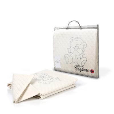 Сменное постельное белье Esspero Teddy Cristal (beige)