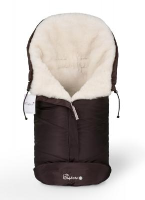 Конверт в коляску Esspero Sleeping Bag white (chocolat)