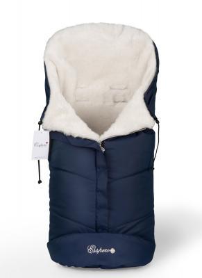 Конверт в коляску Esspero Sleeping Bag white (navy)