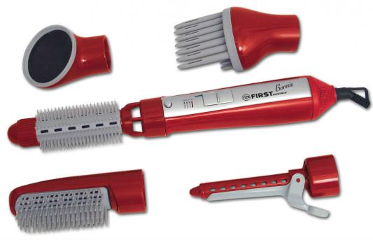 Фен-щетка First FA-5651-1 красный