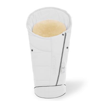 Конверт в коляску Esspero Maris Plus Y (флис + натуральный мех/milk)