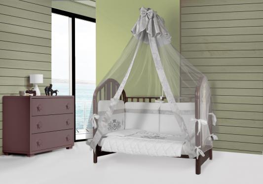Сменное постельное белье Esspero Ribbon Сrown (white)