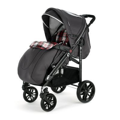 Прогулочная коляска Esspero X-Drive Complect Plus (crimson checker)