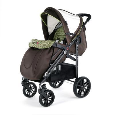 Прогулочная коляска Esspero X-Drive Complect Plus (amber black checker)
