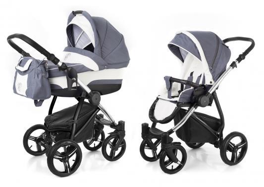 Коляска 2-в-1 Esspero Newborn Lux (шасси chrome/grey lux)