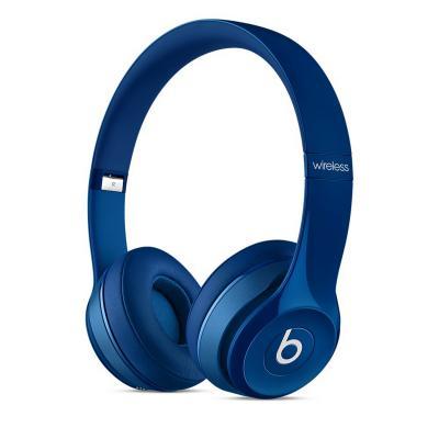 Bluetooth-гарнитура Apple Beats Solo2 Wireless Headphones синий MHNM2ZE/A