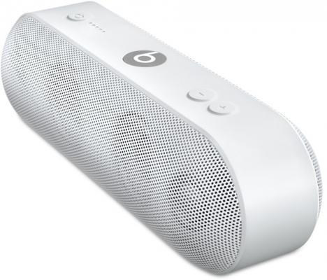 Акустическая система Apple Beats Pill + белый ML4P2ZE/A беспроводная акустика beats pill white ml4p2ze a