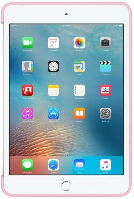 Чехол Apple Silicone Case для iPad mini 4 розовый MM3L2ZM/A