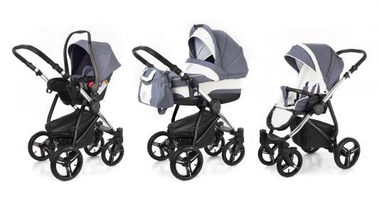 Коляска 3-в-1 Esspero Newborn Lux (шасси chrome/grey lux)