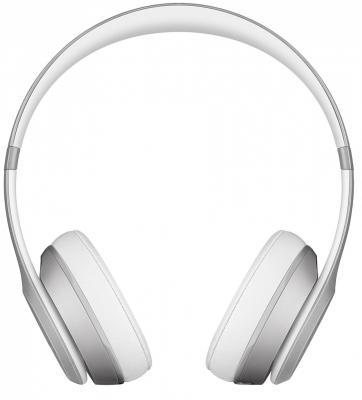 Наушники Apple Beats Solo2 Wireless Headphones серебристый MKLE2ZE/A