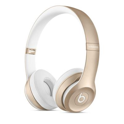 Bluetooth-гарнитура Apple Beats Solo2 Wireless Headphones золотистый MKLD2ZE/A
